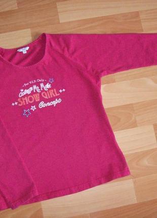 Лонгслив, реглан, футболка с длинным рукавом, 11-12 лет