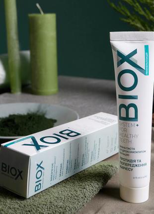 Зубная паста biox с гидроксиапатитом кальция