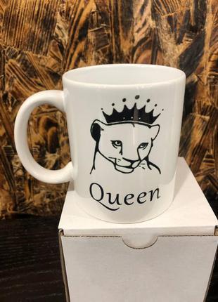 Чашка королева . подарок на 8 марта