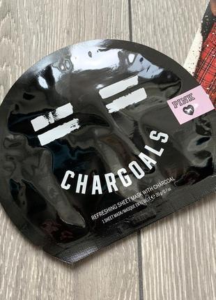 Очищающая маска для лица с активированным углем victoria's secret