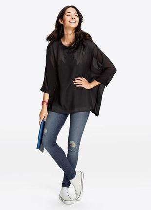 Стильная двойная блуза esmara (германия) коллекция хайди клум,...