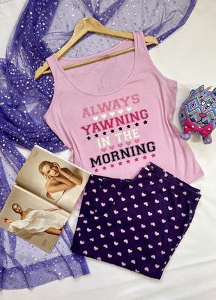 Пижама женская в идеальном состоянии 100% хлопок