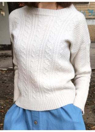 Теплый уютный свитерок.