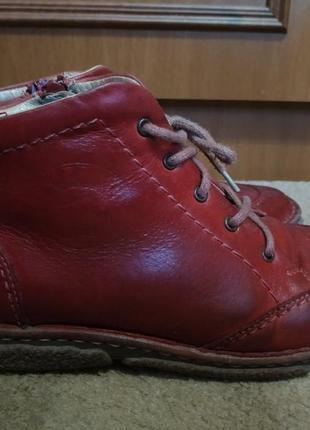 Ботинки кожаные р.36-37