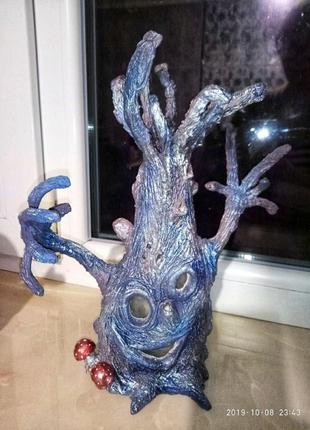 Дерево-светильник ручной работы