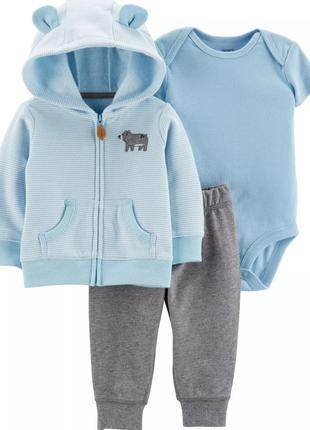 Комплект костюм на мальчика Медвежонок, Carters