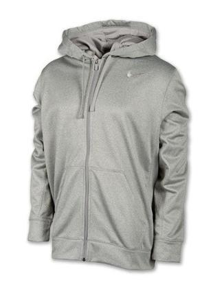 Nike therma fit, р.xl. толстовка реглан худи