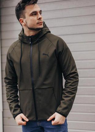 Легкая мужская куртка puma