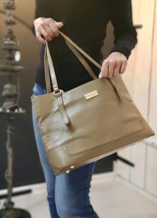 Bcbg 100% оригинальная кожана сумка.