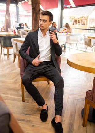 Шикарний чоловічий костюм/мужской деловой костюм