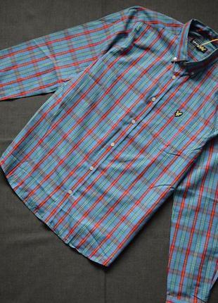Рубашка (новая, с биркой) lyle scott