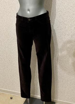 Велюровые джинсы известного бренда. размер 27