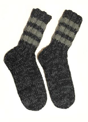 Вязаные носки стопа 26,5 см