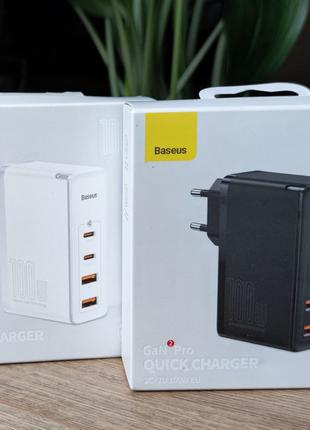 Baseus Gan2 Pro 100W Quick Charger (CCGAN100UE). Новинка!