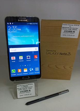 Смартфон Samsung Galaxy Note 3 (Black) 3/32 со стилусом