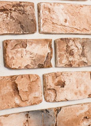 Фасадный кирпич (плитка), лофт, гипсовая и с бетонная