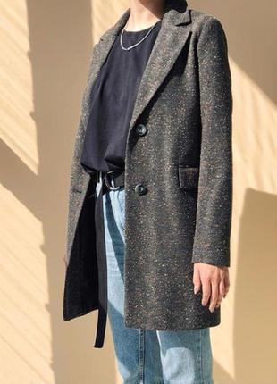 Облегченное пальто season серого цвета