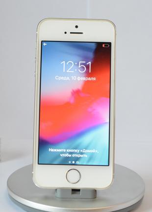 iPhone 5s 32Gb Silver Оригинал б/у с Гарантией от Магазина