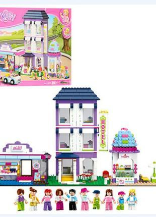 Конструктор Лего Lego Friends Замок Hotel Большой дом 972 детали