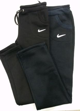 Трикотажные спортивные штаны ,штаны на флисе