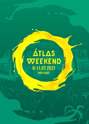 Билет на atlas weekend ( абонемент на все дни)