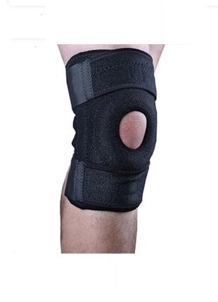 Фиксатор колена с ребрами жесткости