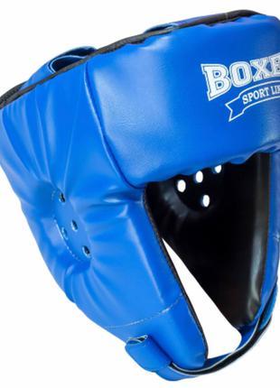 Шлем боксерский «ELIT» винилискожа размер L