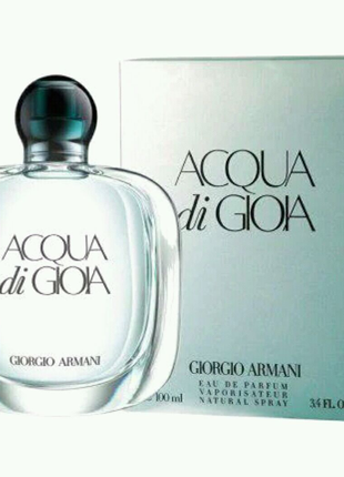 100 мл Giorgio Armani Acqua di Gioia Eau de parfum (ж)