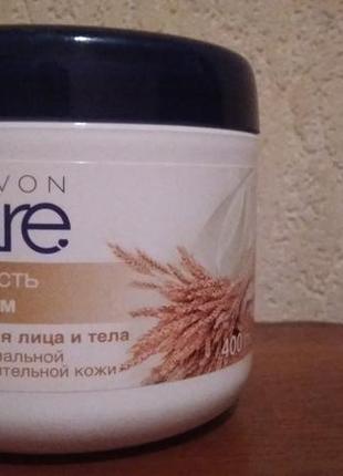 """Крем для лица и тела avon care """"мягкость с овсом"""" 400 ml"""