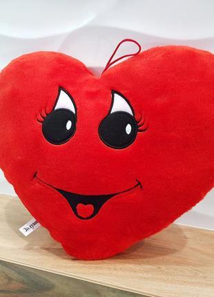 Подушка сердце . подарок на день влюбленных .
