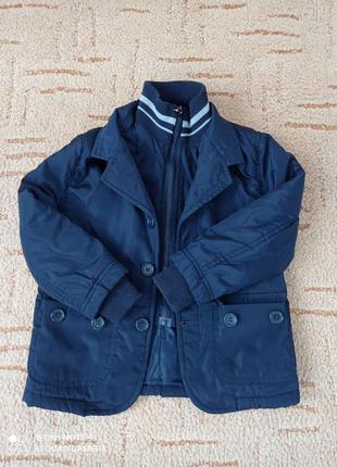 Куртка деми куртка весна куртка для мальчика