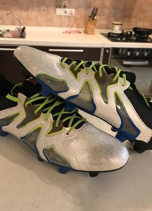 Футбольные бутсы adidas x 15+ sl оригинал новые в коробке адид...