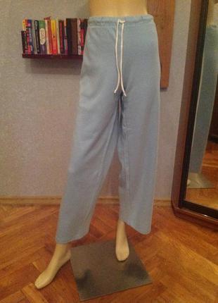 Натуральные, суперовские, свободные спортивные брюки бренда e-...
