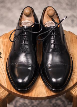 Оксфорды Van Lier, Голландия 43р мужские туфли классические кожан