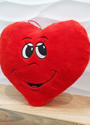 Подушка сердце . подарок на день влюбленных !