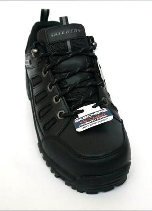 Skechers relment мужские черные водонепроницаемые кроссовки бо...
