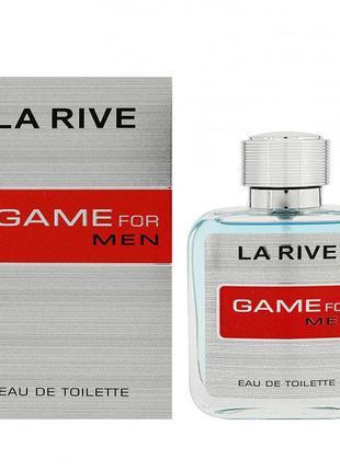 Тестер Туалетная вода мужская La Rive Game For Men 100мл Польша!