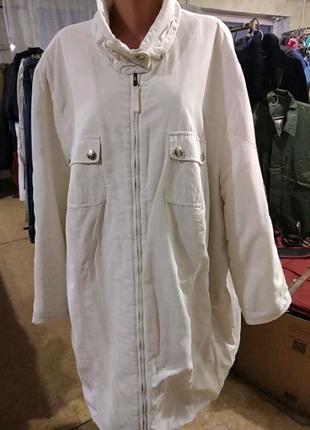 Женская куртка большого размера 62 +