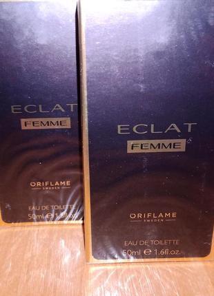 Туалетная вода eclat femme by oriflame, 50 ml