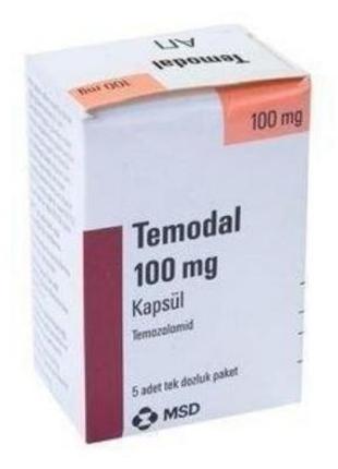 Темодал (Temodal) 100 мг 5 капсул