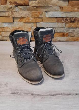 Ботинки dockers оригинал натуральный замш размер 37