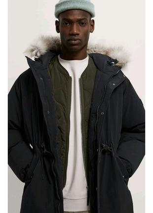 Пуховик куртка Zara,M-L