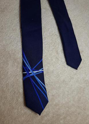 Детский галстук синего цвета на мальчика некст next