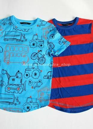 Яркий набор футболок р4-5 лет George 2 шт