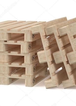 Европоддон и деревянные ящики