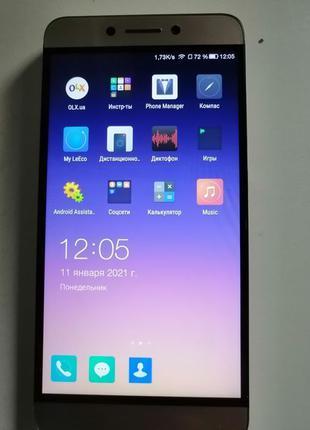 Смартфон LeEco Le S3 (X522) 3/32GB Grey (Международная версия