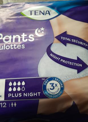 Подгузники-трусы Tena Pants Plus Night