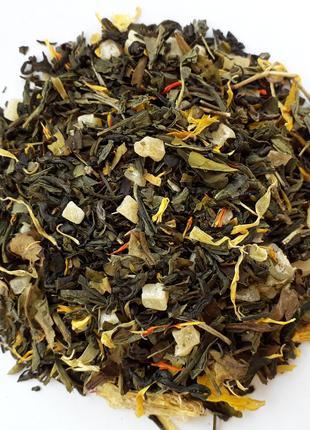 Зеленый чай 8 сокровищ Шаолиня 500г.