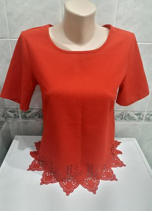 Яркая блуза топ new look