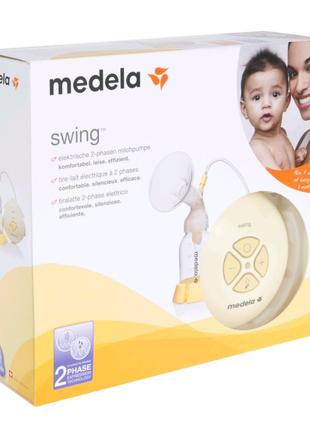 Электрический молокоотсос Medela Swing + Кальма (смарт соска)